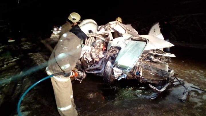 Два человека погибли под Уфой в ДТП с грузовиком DAF