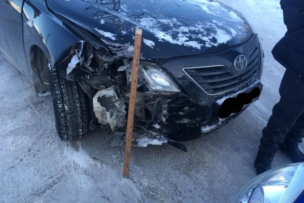 Вторая авария случилась спустя полчаса после первой