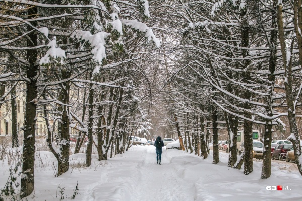 В большинстве районов пройдёт небольшой и умеренный снег