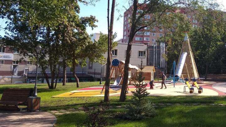 Плитка, экодорожки и новая детская площадка: в Самаре закончили ремонт сквера на Барбошиной поляне