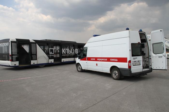 Бригады медиков встретят пострадавших прямо в Кольцово