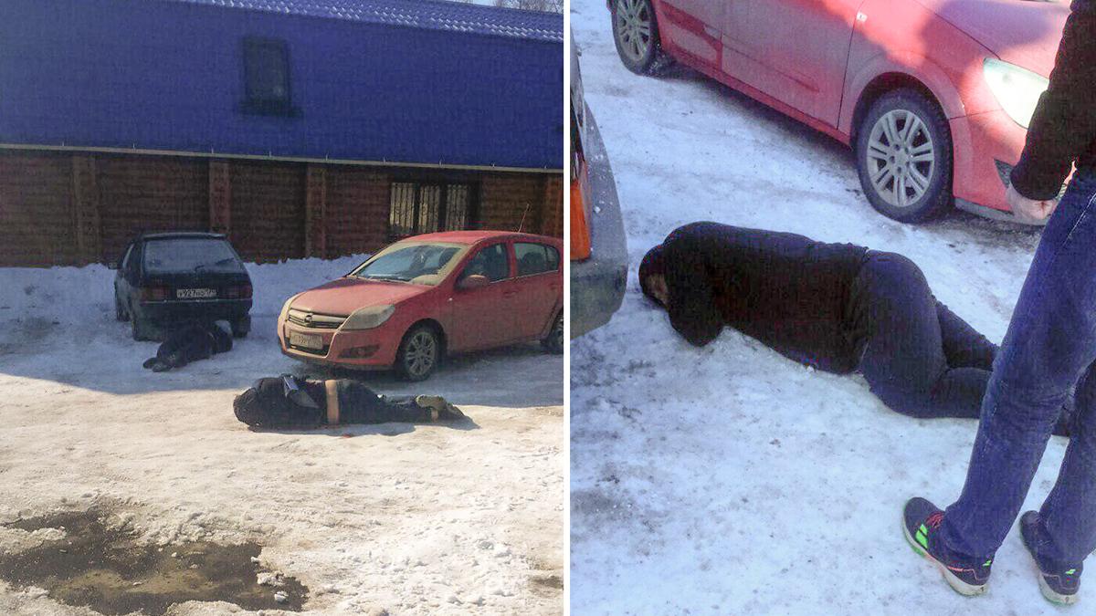 Тела мужчин обнаружили на парковке