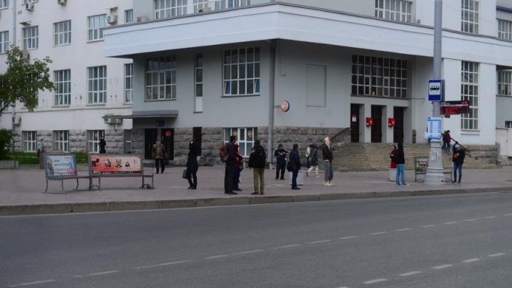 В мэрии рассказали, куда пропали остановки в центре Екатеринбурга