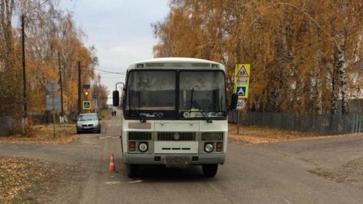 В Самарской области водитель автобуса насмерть сбил пенсионерку