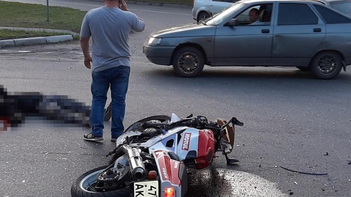 В Кургане в ДТП погиб 25-летний мотоциклист