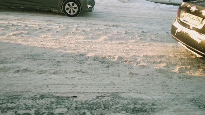 Вот такие «колобашки»: дороги Новосибирска превратились в стиральную доску