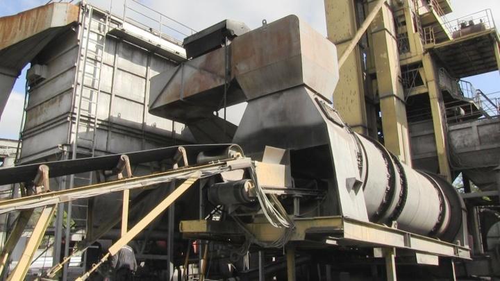 Омские рабочие делали асфальт на оборудовании, которое загрязняло воздух