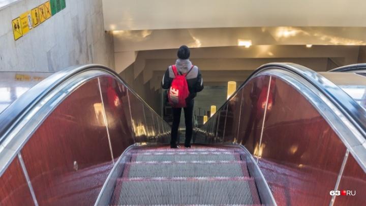 В Самаре две станции метро оборудовали для маломобильных граждан