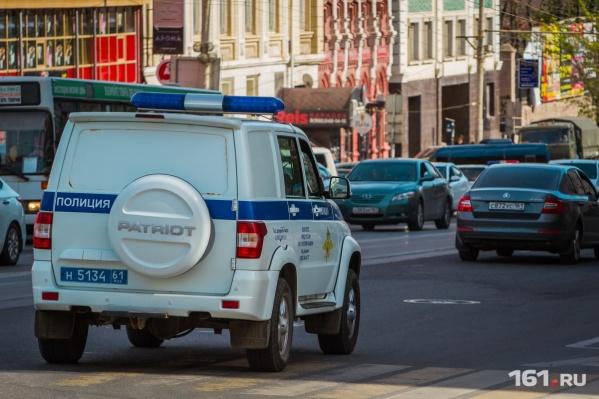 Полицейские задержали подозреваемого