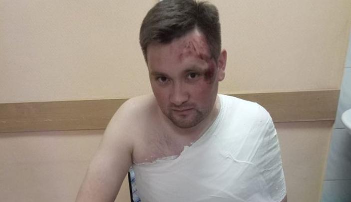 Коня на скаку остановил: журналист башкирского телевидения угодил в больницу после Сабантуя