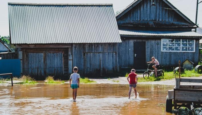 В Прикамье закончился паводок — размытой осталась одна дорога в Гайнах