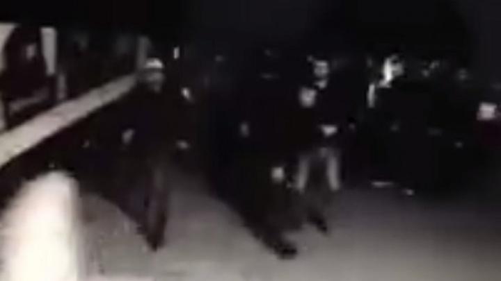 Стрельба в уфимском ночном клубе попала на видео