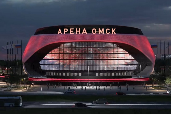 Эскиз будущей новой арены