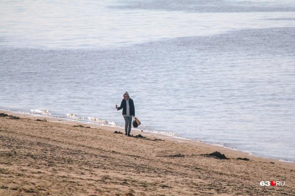 Самарцы продолжают выбрасыватьмусор в реки и на берегах