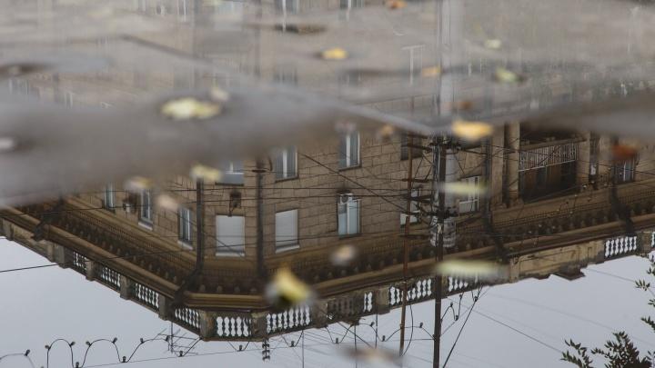 Осень в городе: Волгоград сдаётся дождям, грозам и сильному ветру