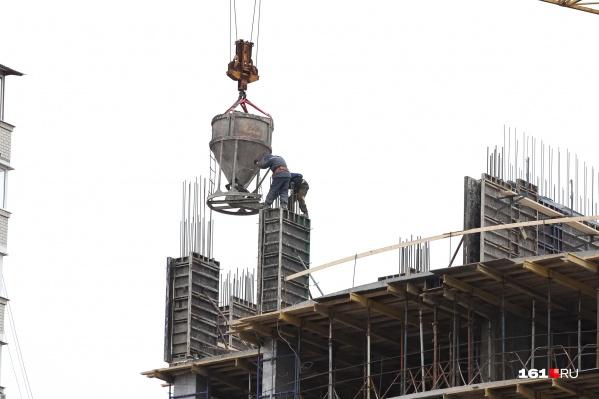 С начала года в Ростове выдавались разрешения только на продление строительства
