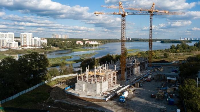 В жилом квартале «Сказы Бажова на набережной Щербакова» поочередно будет сдано порядка 170 000 квадратных метров жилья