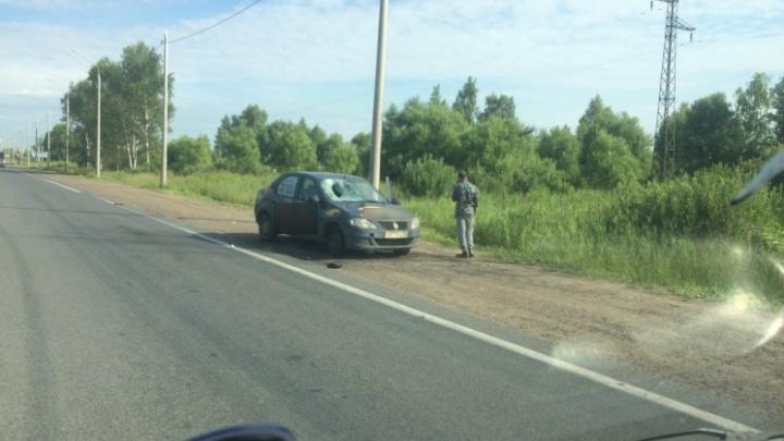 В Ярославле такси сбило пешехода: мужчина в реанимации