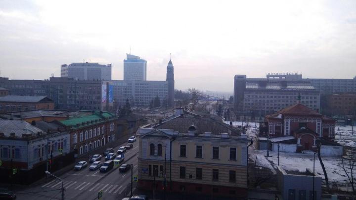 В 1-й день после официального открытия Универсиады Красноярск утонул в выбросах
