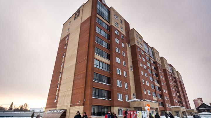 На месте старых бараков на Кубовой построили 10-этажку