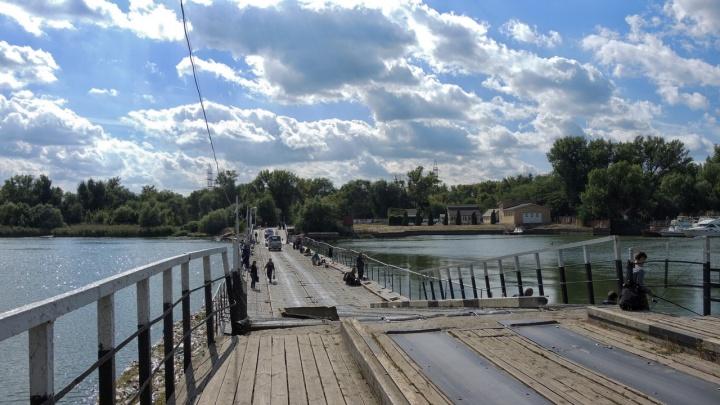 В Ростове открыли мост на Зеленый остров