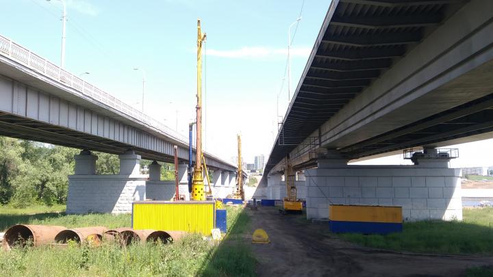 Движение по улице под Бельским мостом в Уфе закрывают на два года