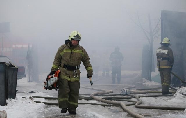 В Башкирии из-за перетопленной печки сгорел дом