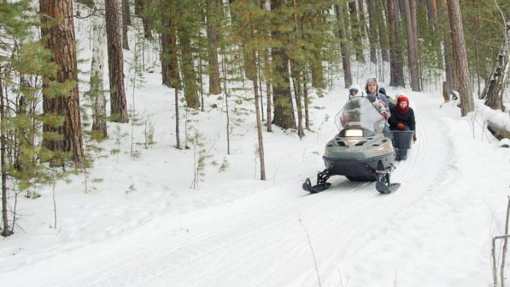 89 нарушений за месяц: каждый шестой снегоход в Курганской области не прошел техосмотр