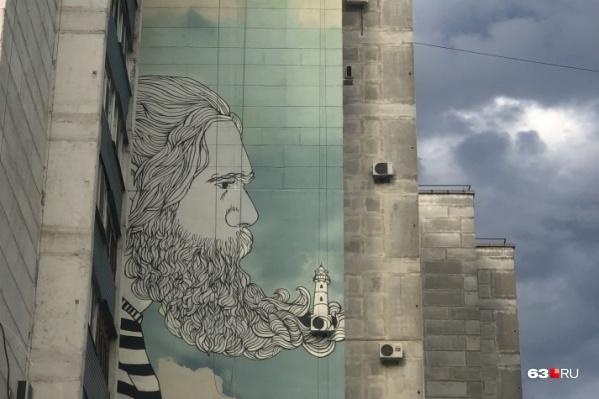 Первые граффити на фасадах домов появились накануне чемпионата мира по футболу 2018 года