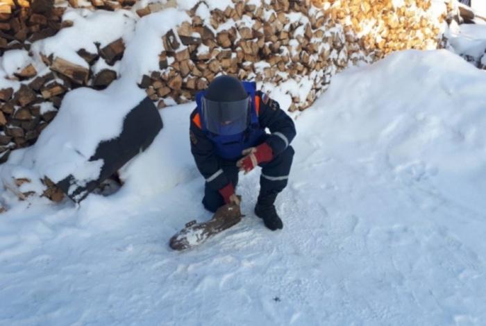 Снаряд нашли работники пункта приёма металлолома