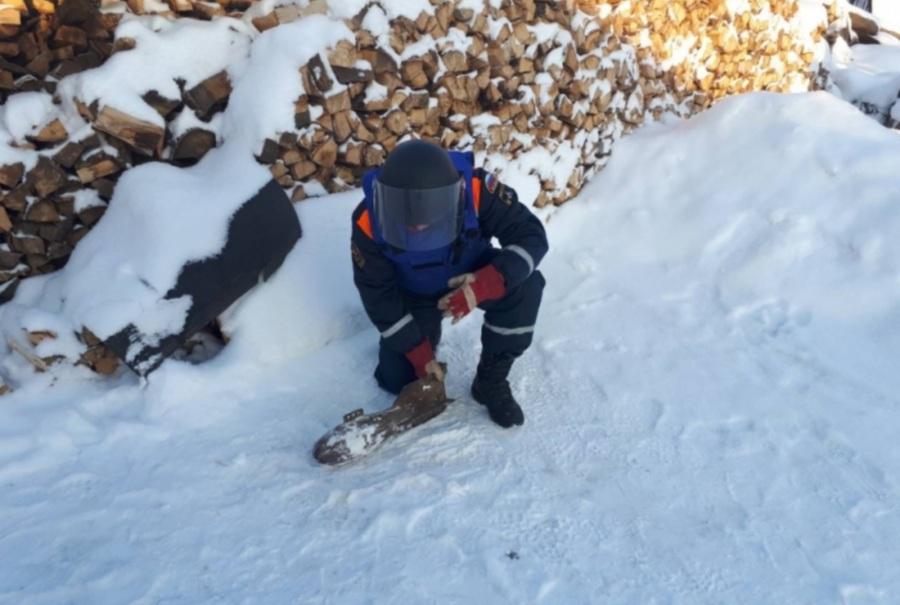 Авиабомбу принесли впункт приема металла вОмской области