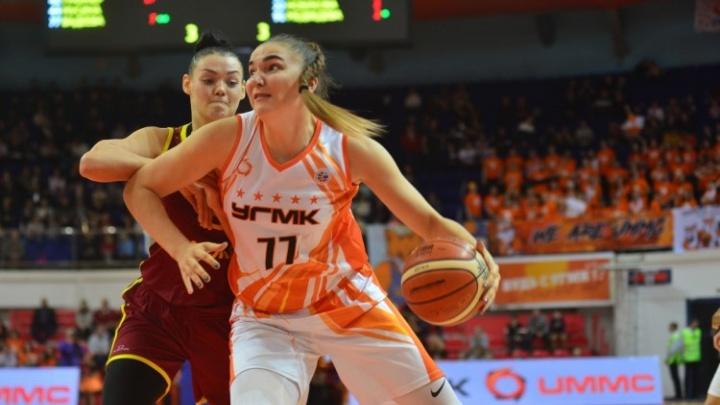 Баскетболистки УГМК вышли в финал Кубка России