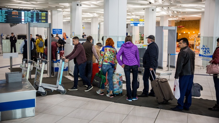 В Толмачёво задержали вылет рейса в Пхукет из-за отсутствия самолёта