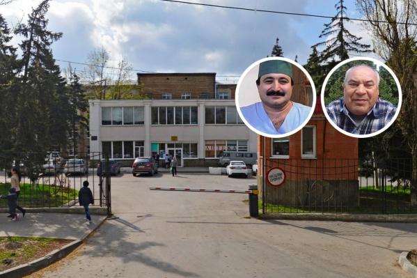 Лечащим врачом Ивана Зимина назначили Имрана Султанова (слева)