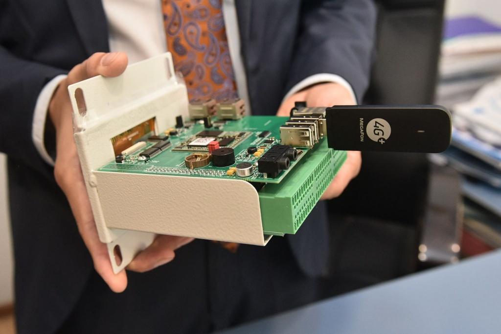 С помощью мобильной передачи данные автоматически поступают на монитор диспетчеру
