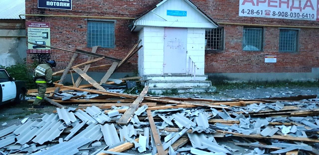 На данный момент пока известно лишь о двух пострадавших от разгула стихии в регионе