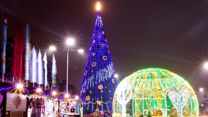 Скромные 20 метров: сравниваем елки Ростова и других городов