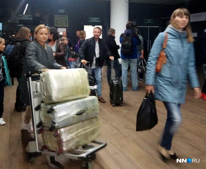 1-ый рейс клиентов «ВИМ-Авиа» прибыл вНижний Новгород