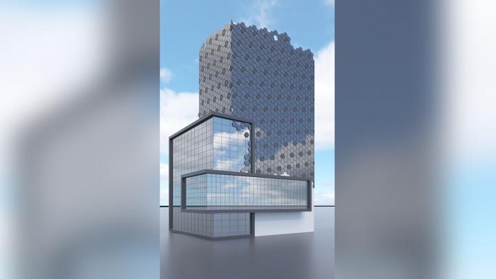 Новосибирские архитекторы придумали здания в честь Роналду и Месси
