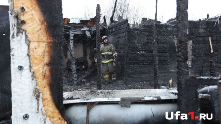 В Башкирии двое мужчин погибли в пожарах