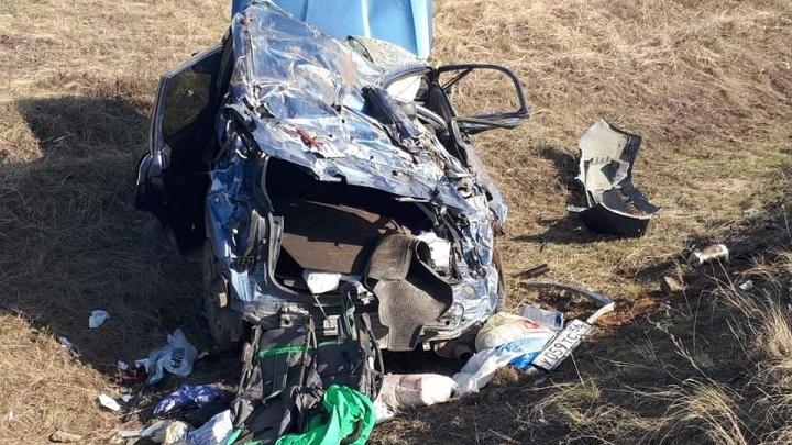 В Башкирии водитель заснул за рулем и чуть не отправил на тот свет свою семью