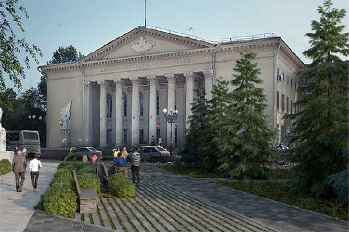 Благоустроить планируют и газоны на площади Мочалова