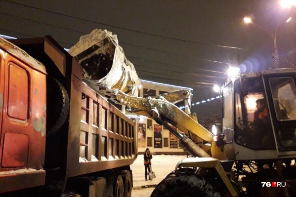 Претензии к зимней уборке улиц у ярославцев есть каждый год