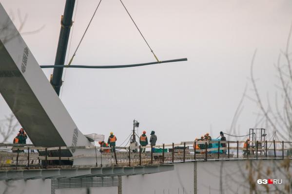 Проект предусматривает строительство путепровода