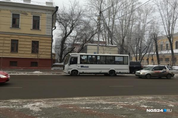 В мэрии уточняют номер автобуса и время, когда он был на маршруте