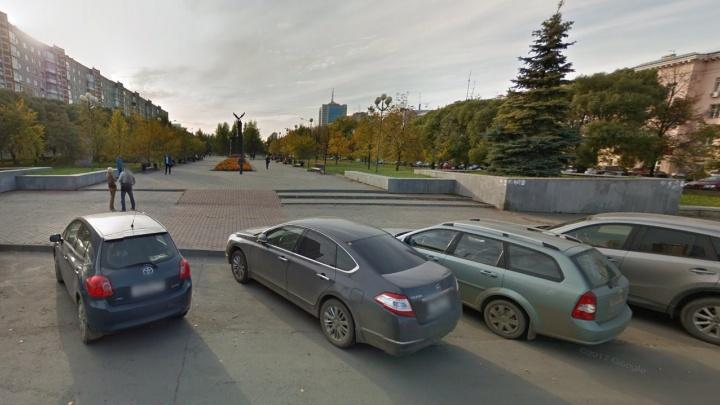 В центре Челябинска установят две чёрные стелы с именами погибших воинов