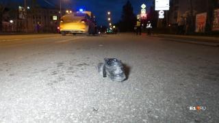 Ботинки лежали на расстоянии нескольких десятков метров друг от друга