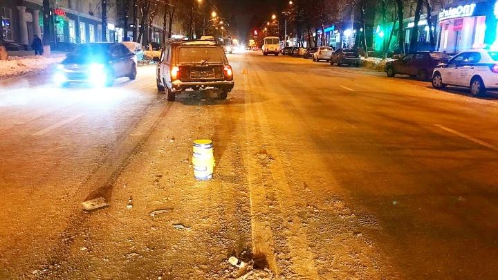 В Уфе ВАЗ-21041 сбил 17-летнюю девушку