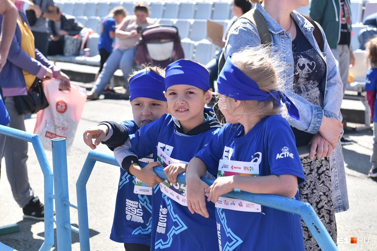 Первый детский марафон открылся в 12:00