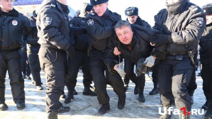 Митинги Навального в Уфе: догонялки с полицией и задержания организаторов